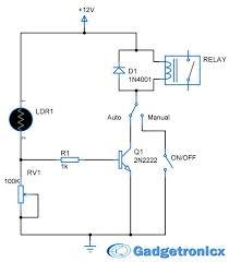ldr circuit diagram relay ireleast info parking lights circuit diagram schematic or electronic design wiring circuit
