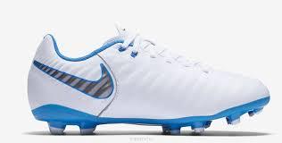 <b>Бутсы</b> для мальчика <b>Nike</b> Jr <b>Legend</b> 7 Academy Fg, цвет: белый ...