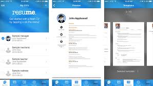 resume tips  how to create a resume on your iphonebest apps for creating a great looking resume on your iphone