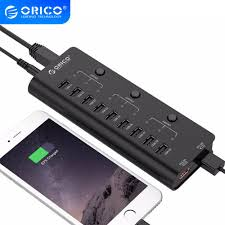 <b>ORICO</b> High Speed <b>USB Hub Multi</b> 9 Ports USB 2.0 Hub Splitter ...