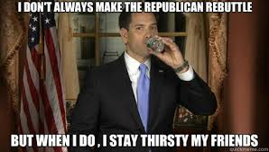 i DON'T ALWAYS MAKE THE rEPUBLICAN REBUTTLE bUT WHEN I DO , I STAY ... via Relatably.com