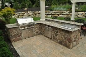 Countertop For Outdoor Kitchen Outdoor Kitchens Clc Landscape Design