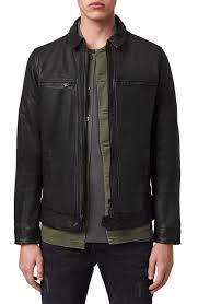 <b>Men's Leather</b> (Genuine) Coats & Jackets | Nordstrom