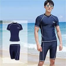 Amazon.co.jp: <b>Flat Angle Swimming Trunks</b> 5 Pcs <b>Men</b> Split Quick ...