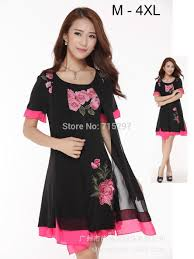 <b>2015 Hot Sale</b> new design plus size women summer embroidery ...