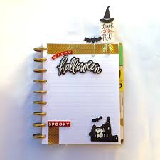 the happy planner diy halloween page markers me my big ideas diy halloween paper clips created by mambi deisgn team member casie gutierrez to include in her
