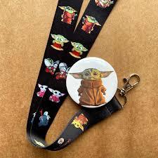 Free Shipping <b>Cute Cartoon Yoda</b> Baby Straps for Keys Mobile ...