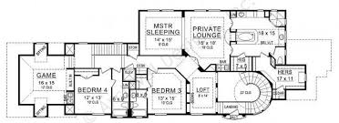 Chambers Bay House Plans   Texas Narrow   Home Plans By Archival    Chambers Bay House Plan   House Plan   Texas Narrow   Second Floor Plan