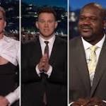 Jennifer Lawrence Takes Over 'Kimmel': Halloween Prank, a Kardashian, Pedestrian Quiz