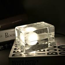 ice cube small table lamp