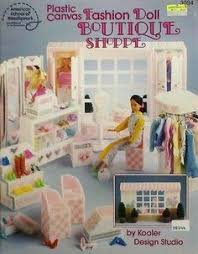 plastic canvas boutique shoppe book fashion doll furniture pattern asn 3094 http barbie doll furniture plans