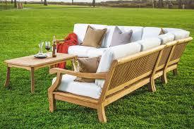 Outdoor Furniture Teak Wood Metal Resin Crate And Barrel