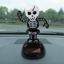 Halloween pumpkin <b>Car</b> Ornaments Zombie <b>car interior decoration</b> ...