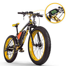 [EU Direct] <b>Lankeleisi</b> Folding Electric bicycle 26inch Tires 400W ...