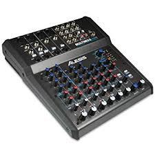 Alesis MultiMix 8 USB FX | 8-Channel Mixer with ... - Amazon.com