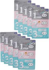 Holika <b>Holika Pig Nose Clear Black</b> Head 3 Step Kit x 10ea: Amazon ...