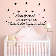 Small Picture New Listing Baby Room Wall Stickers 50x110cm Childrens Room Wall