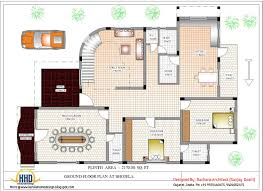 Luxury Indian home design   house plan   Sq Ft    home    Ground floor house plan   Sq Ft