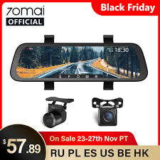 English Version <b>70mai</b> Smart <b>Dash</b> Cam <b>Mirror 70mai Rearview</b> ...