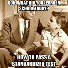 son, What did you learn in school today? How to pass a ... via Relatably.com