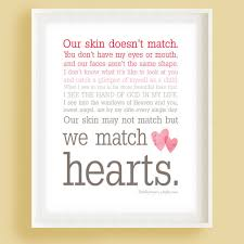 We Match Hearts Pink Ombre Typography Wall Art by wallpost