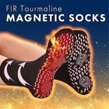 FIR Tourmaline Magnetic Socks - Self Heating Therapy ... - Vova