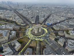 Image result for arc de triomphe destroyed