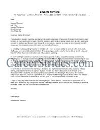 teacher cover letter samples education cover letter samples in teacher cover letter samples education cover letter samples in teaching cover letter example