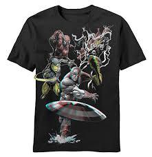 Marvel 3D T-Shirt: Clothing - Amazon.com