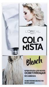 <b>Крем</b>-<b>краска для</b> волос осветляющая «Colorista Bleach» <b>L'Oreal</b> ...