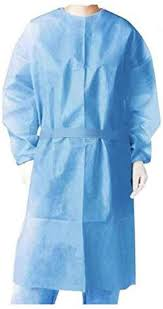 Buyao 10/25/<b>50 Pcs</b> Disposable Isolation Gowns with <b>Elastic</b> Cuffs ...