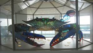 400 Pound Stained Glass Blue Crab - Funny Images and Memes To Fill ... via Relatably.com