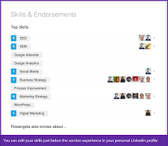how to use linkedin 5 easy and executive tips adding all of your skills in your linkedin profile is very important because it increases the possibility of your profile being seen by 13 times