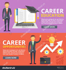 career education career opportunities flat illustration stock career education career opportunities flat illustration concepts set modern flat design concepts for web