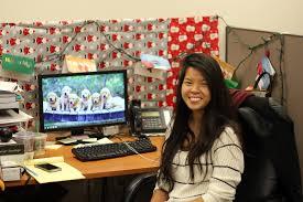 meet the social media team best office christmas decorations