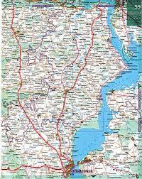 <b>Карта Ульяновской области автомобильная</b>. Подробная <b>карта</b> ...