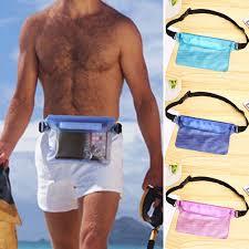<b>Three Layers Waterproof Underwater</b> Waist Bag Swimming Dry ...