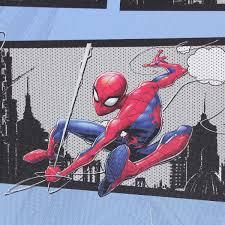 Обои, 1,06х10 м, флизелиновые, голубые, рисунок «<b>Человек</b>-<b>паук</b>