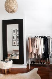 a chic dressing room love everything but the rug chic small white home