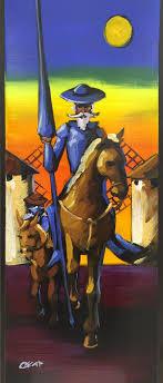 best images about don quixote man of la mancha don quijote y sancho al oacuteleo sobre madera