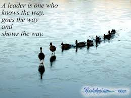 A leader is one who knows the way..... | Inspirational Quotes ...