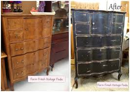 black chest of drawers black painted furniture ideas