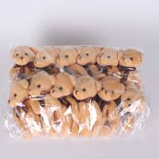 <b>12Pcs</b>/<b>Lot 12cm</b> Bear Plush Toys Mini Teddy Bear Dolls Small Gift ...