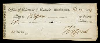 metaphors of martin luther king s i have a dream speech an actual check made out to thomas jefferson