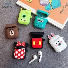 VOZRO Cartoon <b>Wireless Bluetooth</b> Earphone Case For Apple ...