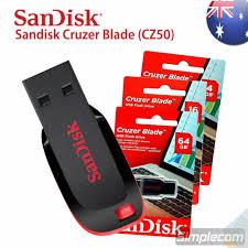 Sandisk Cruzer Blade CZ50 <b>USB Flash Drive 16GB</b> Computers ...