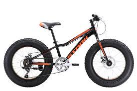 <b>Велосипед STARK Rocket Fat</b> 20.1 D 2018 one чёрный/оранжевый