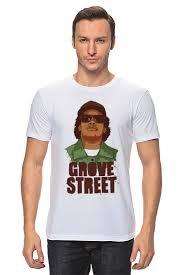 <b>Футболка классическая Printio</b> GROVE STREET 4 <b>LIFE</b> #1001420