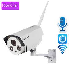 OwlCat <b>HI3518E</b>+SONY323 Outdoor Waterproof Wireless Bullet IP ...