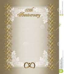 th wedding anniversary invitation template royalty stock 50th wedding anniversary invitation template